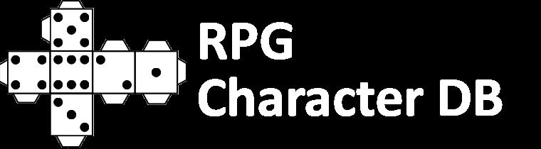 Rollenspiel Charakter Datenbank